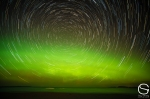 Northern Lights Stacked
