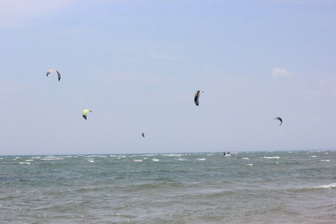 Tawas Beach Kiteboarding